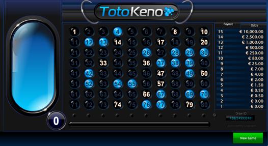 Toto Keno Losing Bet 2