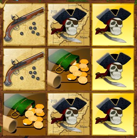 Pirate Instant Winning Scratchcard 2