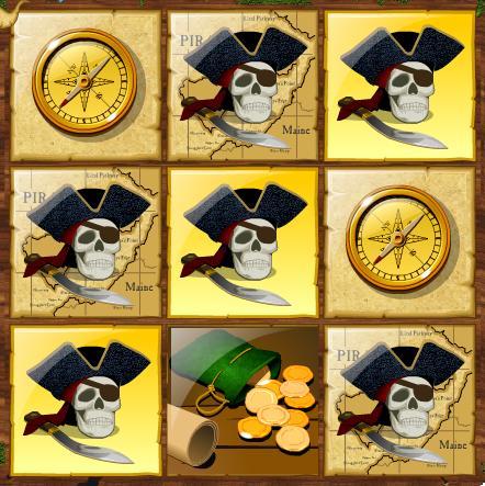 Pirate Instant Winning Scratchcard 3