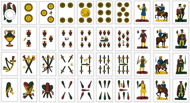 Siciliane Cards