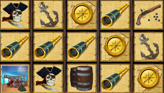 Pirate Island Example 1