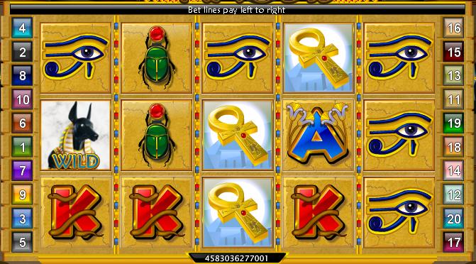 Pyramid of Anubis Example 2