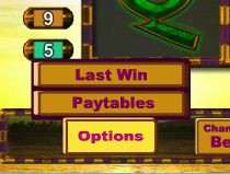 Temple of Isis Options Button