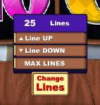 White Wizard Change Lines Button