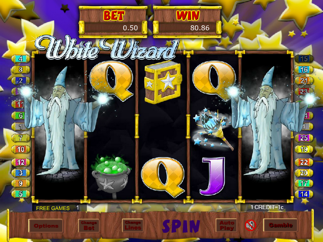 White Wizard in Free Games