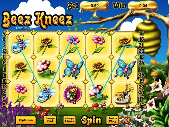 Beez Kneez Win Example