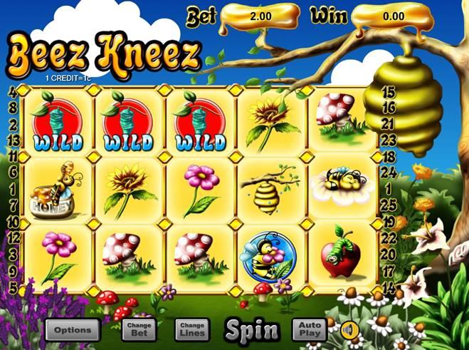 Beez Kneez Triggering Free Game