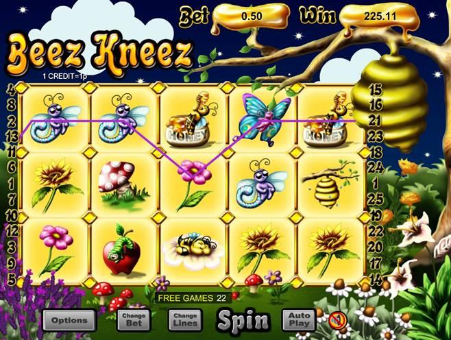 Beez Kneez in Free Game