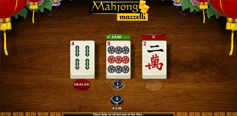 Mahjong Mazzetti Winning Example 2