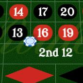 Roulette Six Line: 13-18