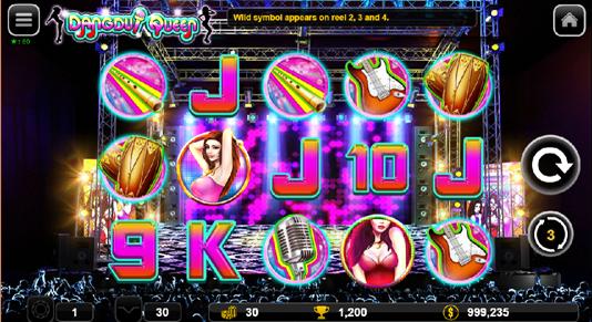 Dangdut Queen free spin mode display.png