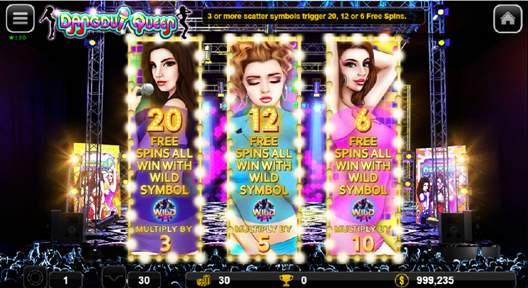 Dangdut Queen free spin select scene.png