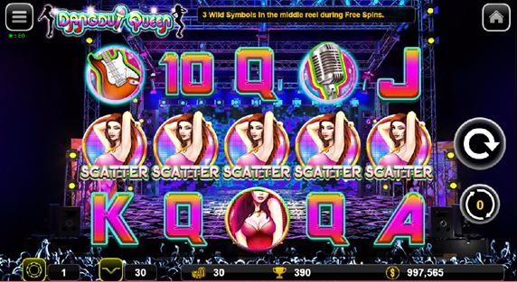 Dangdut Queen game scene scatter symbol shown .png