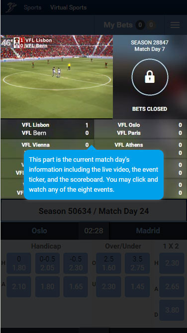 Virtual Football League first sign in toast message top.jpg