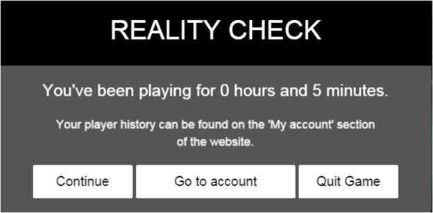 Ocean Fortune reality check window.png