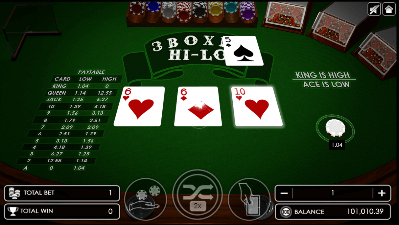 Three Boxes Hi-Lo another example card dealt on the right side.png