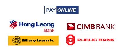 Deposit into SBOTOP through these Malaysian Banks