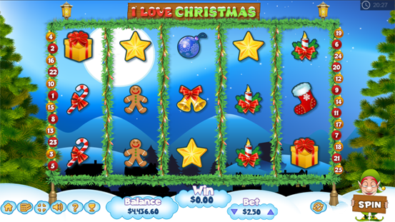 I Love Christmas Game Entry Scene.png