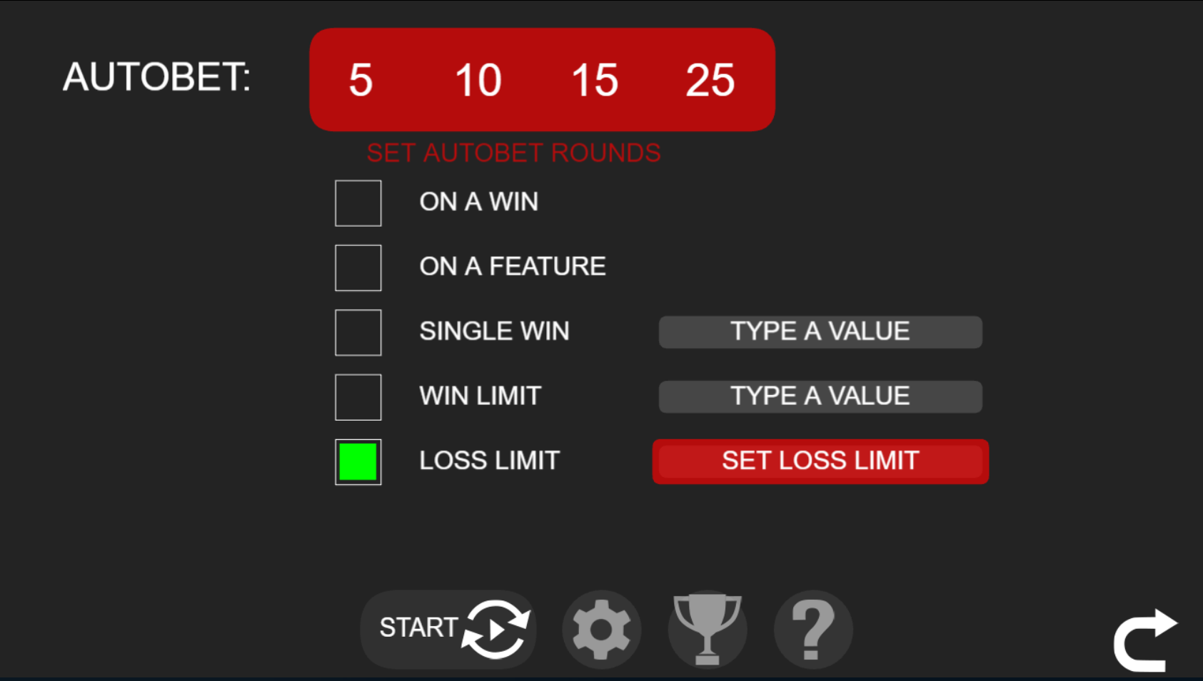 Lucky Keno autobet limit settings for UK players.png