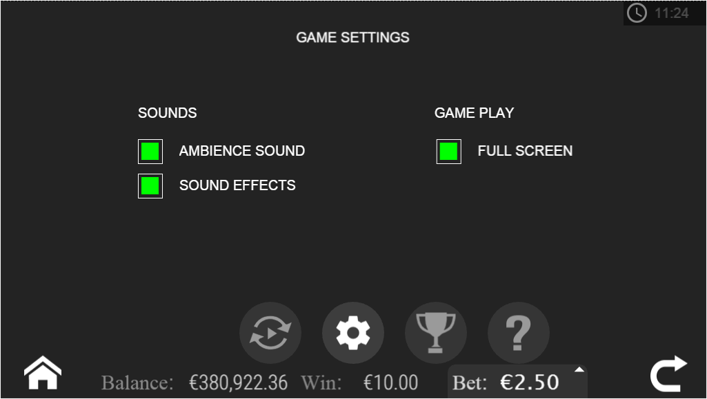 Cash Cuisine game settings.png