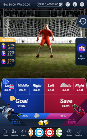 Football Strike game scene
