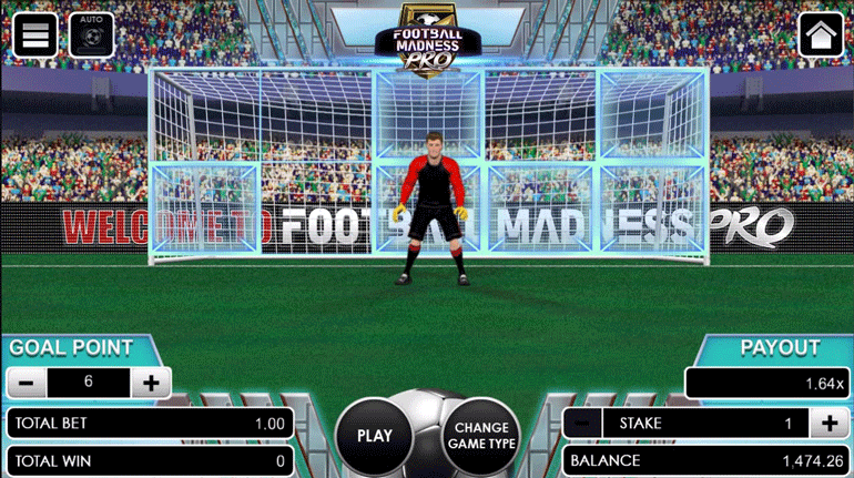 Football Madness Pro Kick adjust goal point amount