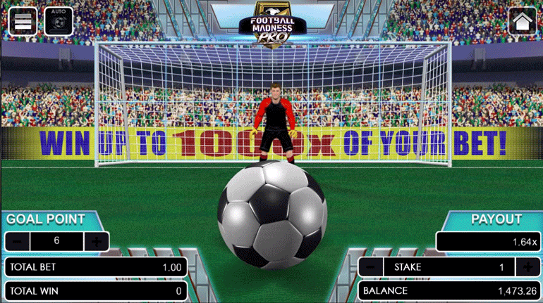 Football Madness Pro Penalty Kick after Play