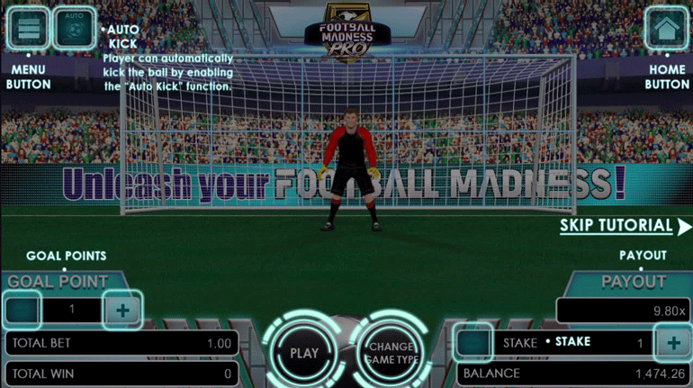 Football Madness Pro Penalty Kick tutorial