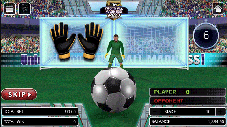 Football Madness Pro Shootout defending phase