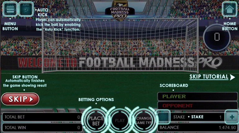 Football Madness Pro Shootout tutorial