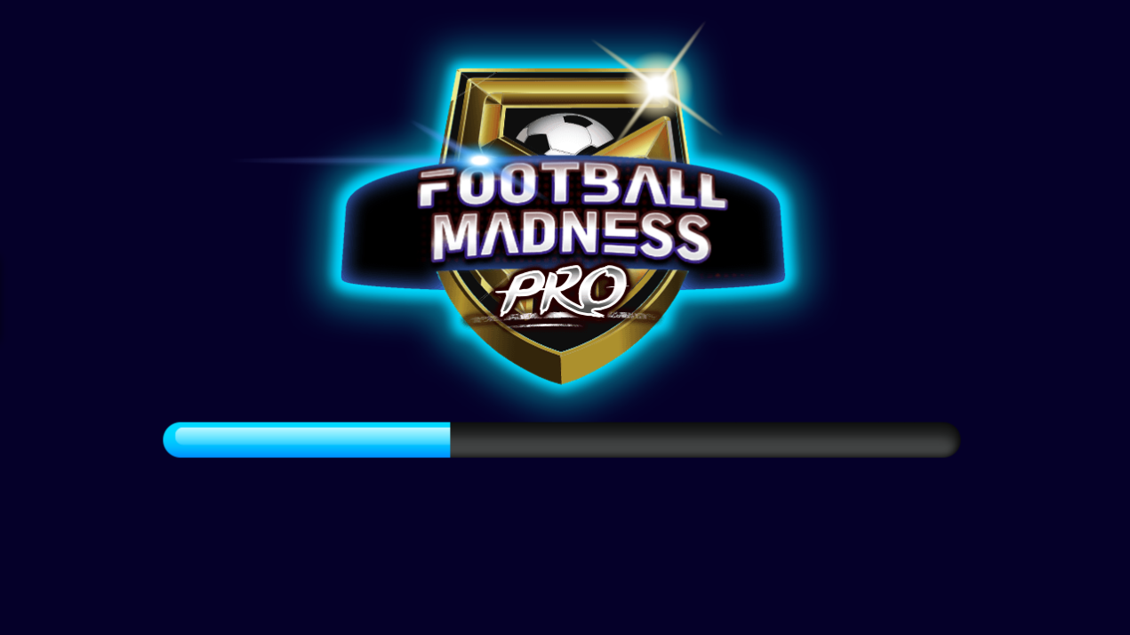 Football Madness Pro game loading screen