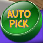 Santas Workshop auto pick button