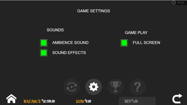 Santas Workshop game settings for mobile