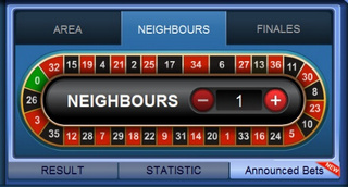 SBOTOP Live Casino  Roulette Neighbours Bet