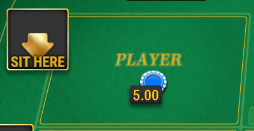 SBOBET Casino Games - Baccarat Multiplayer Player's Bet